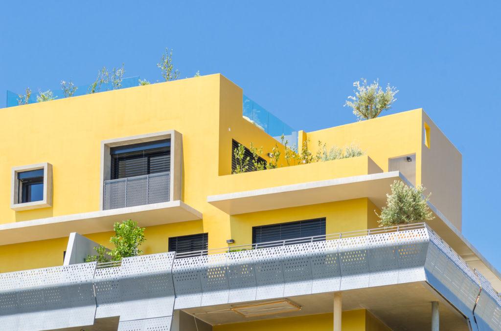 Vue sur le toit - Le Platinium à Montpellier par M&A Promotion