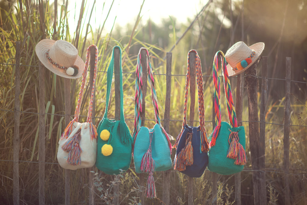 Mise en situation sac Wayuu