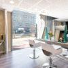 Salon de coiffure - Bâtiment Le Nuage du promoteur Roxim à Montpellier Port Marianne