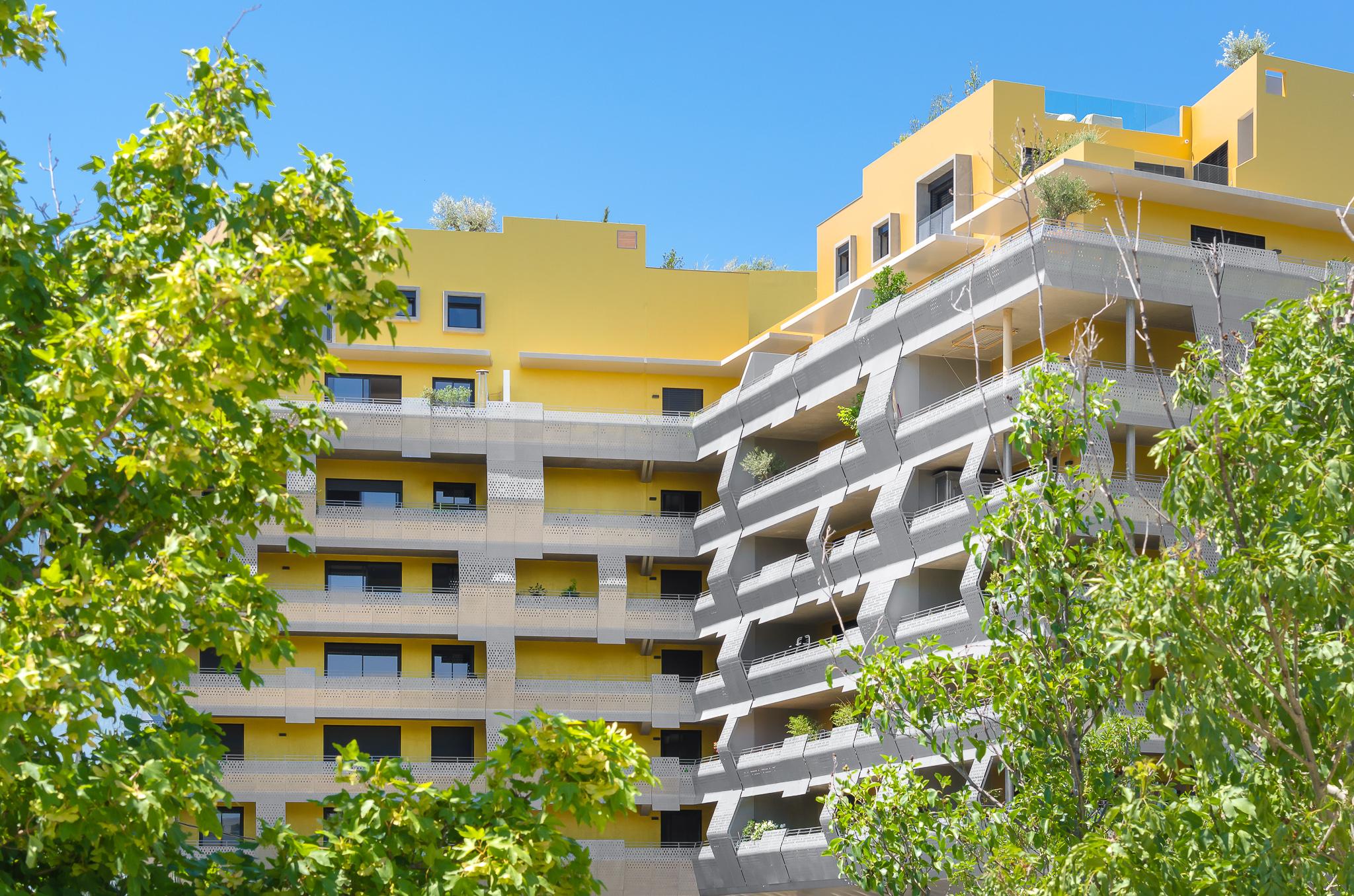 Façades - Le Platinium à Montpellier par M&A Promotion