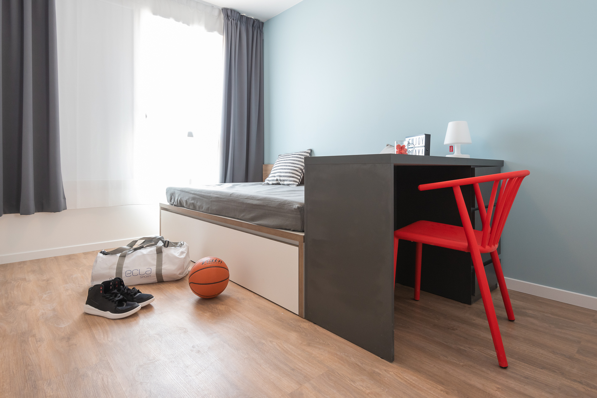 Appartement témoin - Tony Parker Adéquat Academy à Lyon