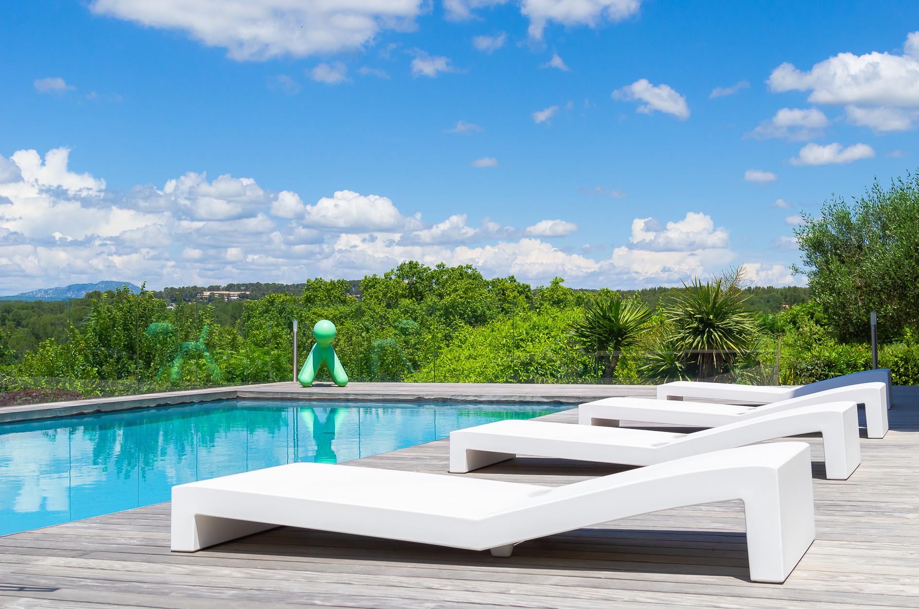 Espace piscine Villa de prestige à Castelnau-le-Lez - Agence Sotheby's Montpellier