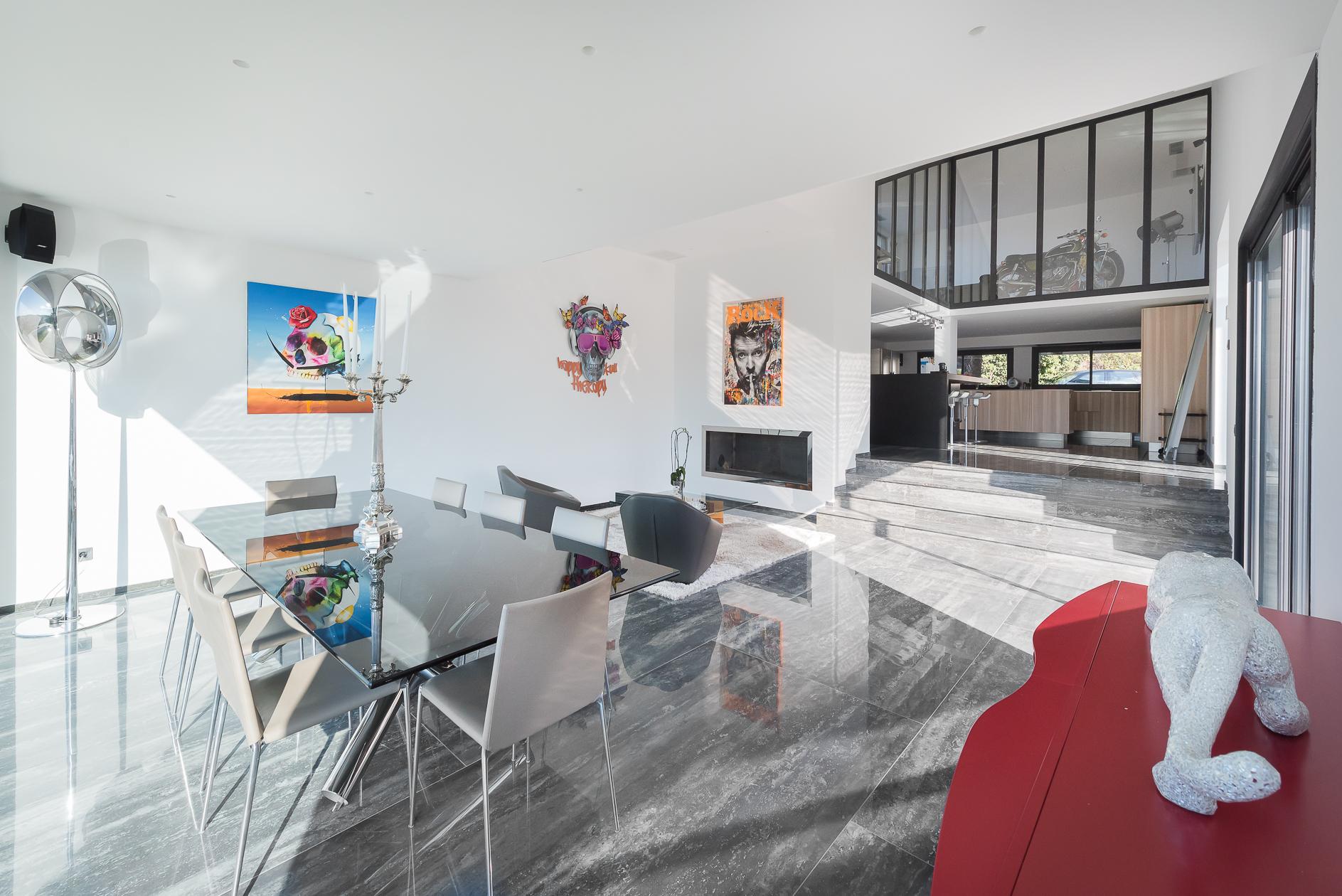 Séjour d'une Villa de prestige à Castelnau-le-Lez - Agence Sotheby's Montpellier